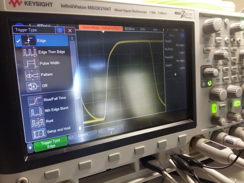 Soundsreal R&D - InfiniiVision 3000T X-Series Oscilloscope